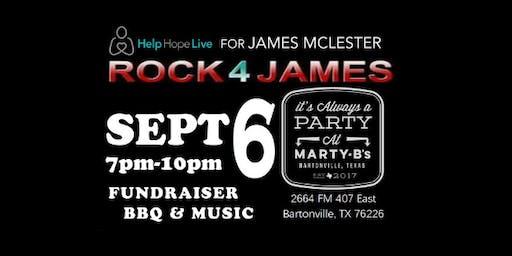 Help Hope Live Rock 4 James  South Central Kidney Fundraiser BBQ & Music