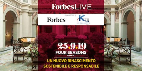 ForbesLIVE Firenze tickets