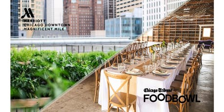 Chicago Tribune Food Bowl Rooftop Dinner with Heritage Prairie Farms tickets