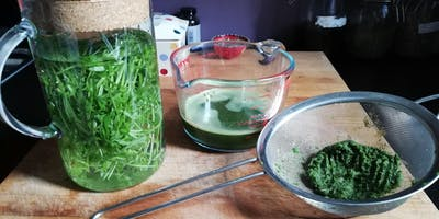 Learn how to make HERBAL JUICES