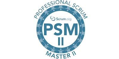 Professional Scrum Master II - SP Outubro