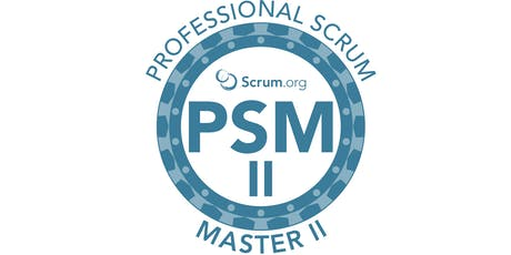 Professional Scrum Master II - SP Outubro ingressos