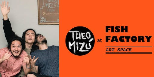 Theo Mizú & Banda Live at the Fish Factory - Yallah!! Tour 2019