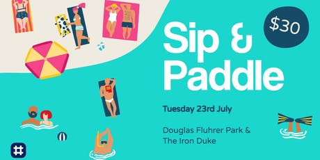 Sip & Paddle tickets