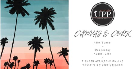 Canvas & Cork | Palm Sunset tickets