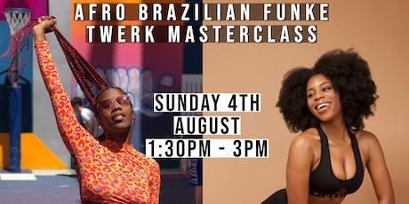 AFRO BRAZILIAN FUNK TWERK MASTERCLASS! DANCE IN LONDON @SABRINAGINGA tickets