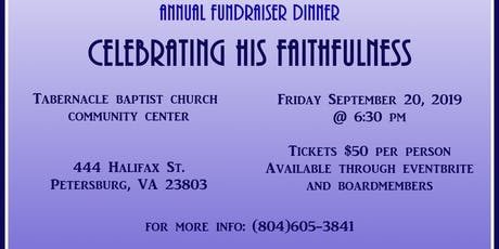 Yeshua's House Dinner Fundraiser: Celebrating His Faithfulness tickets