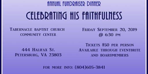 Yeshua's House Dinner Fundraiser: Celebrating His Faithfulness