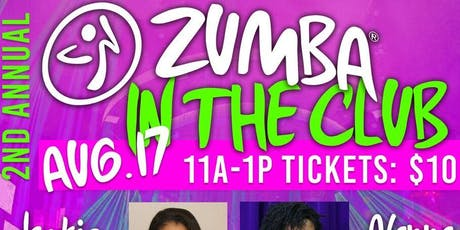 Jackie Paige Presents: Zumba In The Club Fitness Party  tickets