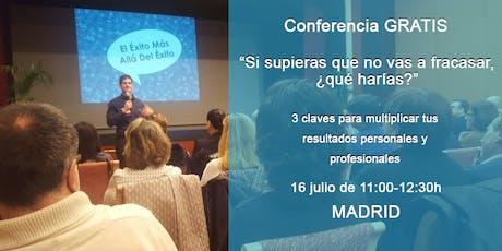 Multiplica tus resultados. Conferencia GRATIS +libro de regalo en Madrid entradas