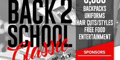 5TH ANNUAL BACK TO SCHOOL CLASSIC & GIVEAWAY