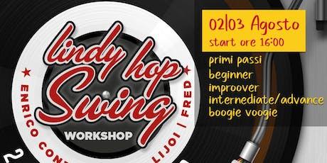 Workshop Lindy Hop & Boogie Woogie con Enrico Conti & Chiara Lijoi biglietti
