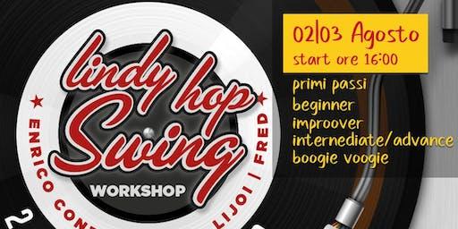 Workshop Lindy Hop & Boogie Woogie con Enrico Conti & Chiara Lijoi
