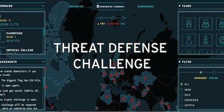 Threat Defense Challenge - Hack & Defend tickets