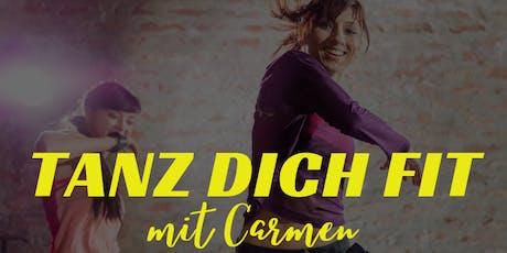 Tanz Dich Fit mit Carmen (KARLSRUHE) Tickets