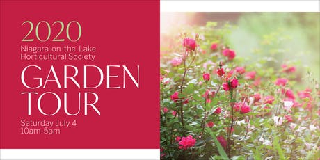 2020 NOTL Horticultural Society 29th Annual Garden Tour  tickets