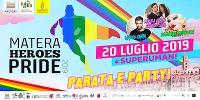 Matera Heroes Pride 2019