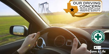 Our Driving Concern Employer Transportation Safety Training, TDI, Division of Workers Comp-Austin tickets