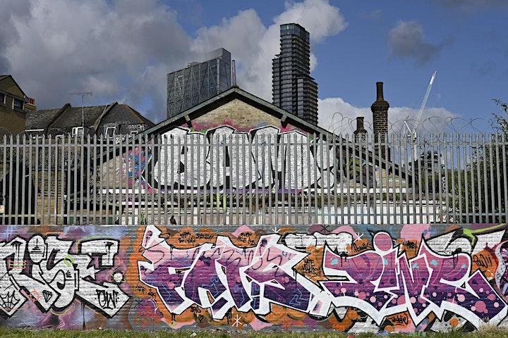 London Street art photo walk Brick Lane and Shoreditch image