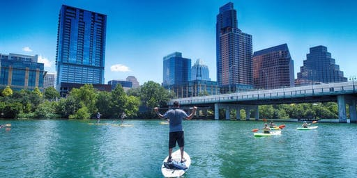 Choose Your Paddle on Lady Bird Lake!