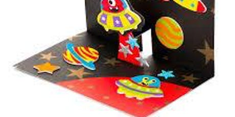 Summer Reading Challenge Space Pop Up Card @ Hale End Library tickets