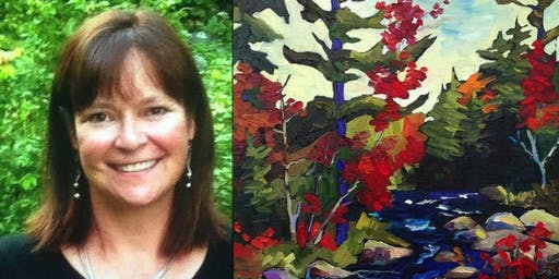 Painting Workshop - Birches & Blooms