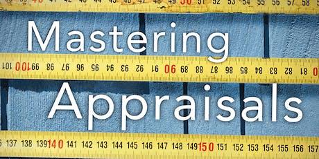 Mastering Appraisals tickets