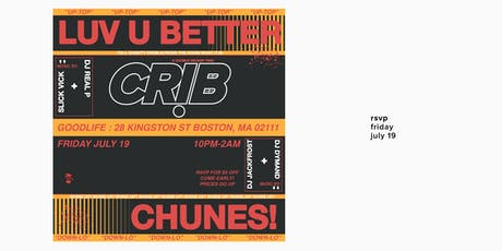 CRIB / July 2019 tickets