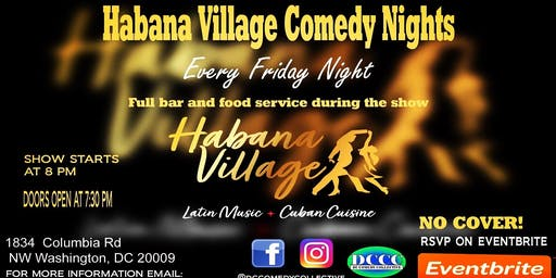 Habana Village Comedy Nights