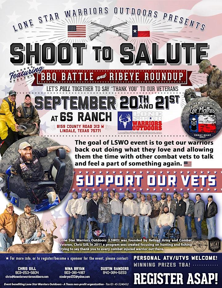 Shoot to Salute featuring BBQ Battle & Ribeye Roundup image
