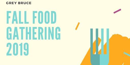 Fall Food Gathering 2019