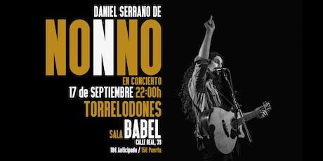 NONNO - Gira Rebelión en Torrelodones (Acústico) entradas