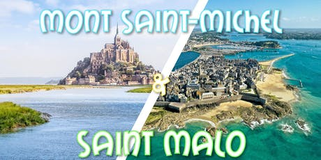Weekend Mont Saint Michel & Saint Malo billets