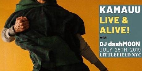 KAMAUU - Live and Alive! tickets