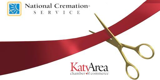 Katy Chamber Ribbon Cutting: National Cremation Service
