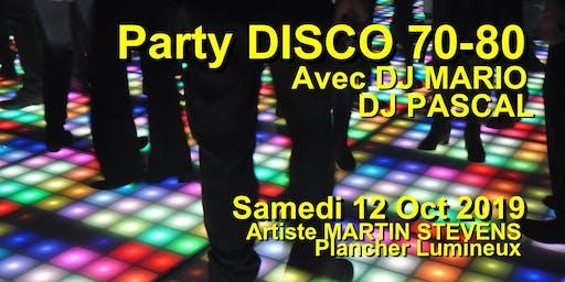 Party DISCO 70-80 avec DJ MARIO (Huitieme éditions)