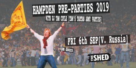 THE TARTAN ARMY HAMPDEN PRE-PARTY SCOTLAND V RUSSIA tickets