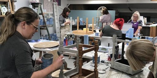 Beginners Furniture Painting Workshop
