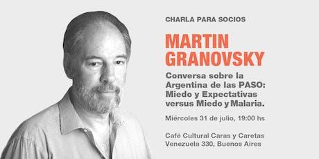 Soci@s  P 12 Martin Granovsky entradas