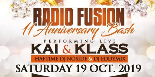 RADIO FUSION 11TH ANNIVERSARY : KLASS & KAI
