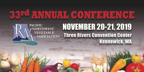 2019 Pacific Northwest Vegetable Association Conference and Trade Show tickets