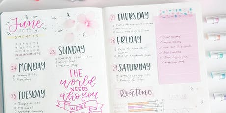 Introduction to Bullet Journaling Workshop by Zoey Chua tickets