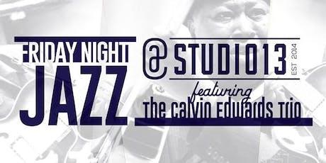 Friday Night Jazz & Fish Fry with Calvin Edwards tickets