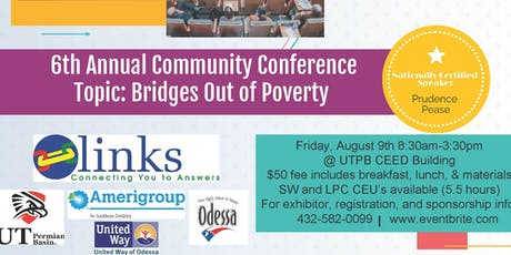 6th Annual Links Community Conference- Bridges out of Poverty tickets