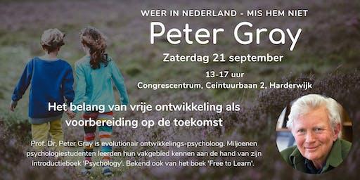 Seminar - onderwijs van de toekomst met Peter Gray
