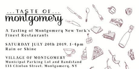 2019 Taste of Montgomery tickets