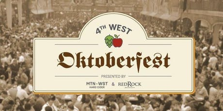 4th West Oktoberfest 2019 tickets