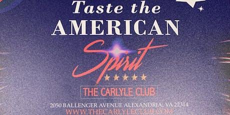 Taste the American Spirit  tickets