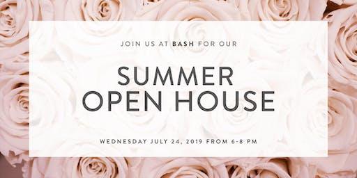 Boldly BASH Summer Open House