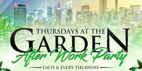 THURSDAYS AT THE GARDEN WITH DJ NORIE  tickets